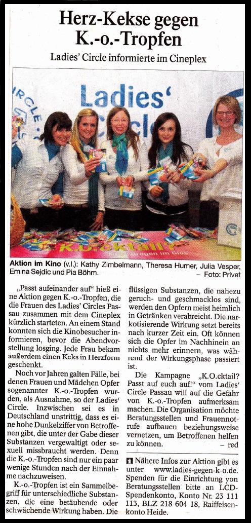 PNP Bericht über Den Zwischenstopp Des Weihnachtspäckchenkonvois Am  Samstag, Den 30. November 2013 In Passau, Wo Die Helfer Mit Essen U0026 Trinken  Versorgt ...